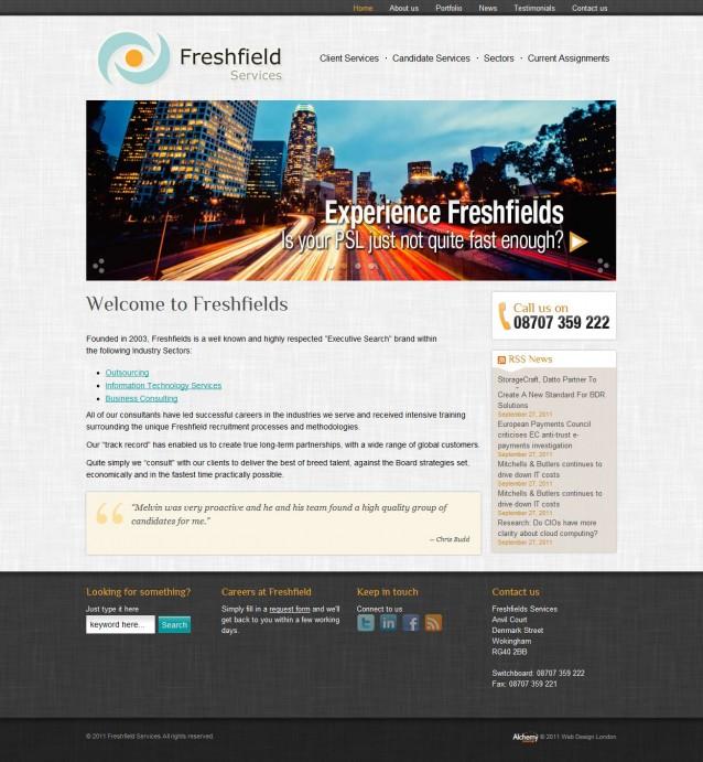 Freshfield Services - Home