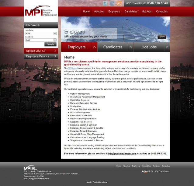 MPI Recruitment - Home