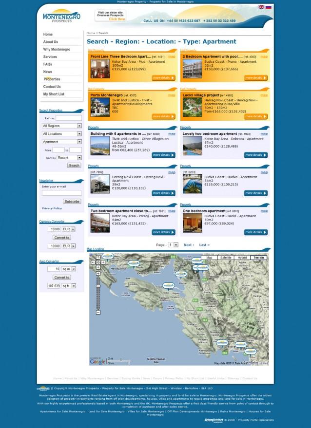 Montenegro Prospects - Property
