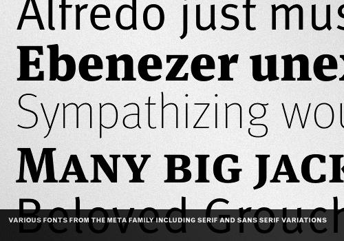 Typeface Family